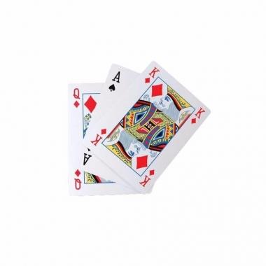 Kaartspellen extra groot a4