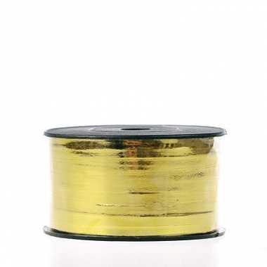 Kado lint in goudkleur op spoel