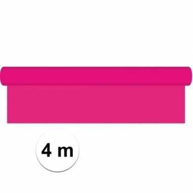 Kaftpapier schoolboeken roze 4 meter