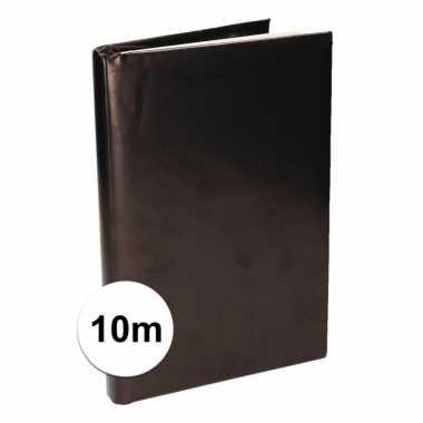 Kaftpapier schoolboeken zwart 10 meter