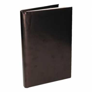 Kaftpapier schoolboeken zwart 200 x 70 cm