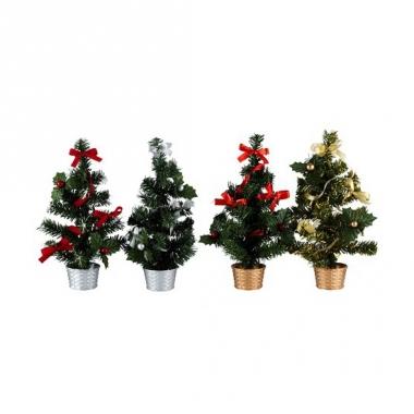 Kantoor kerstboom zilver