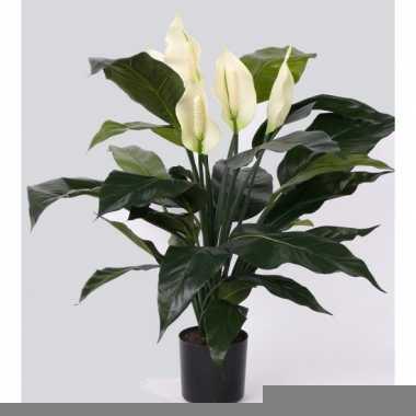 Kantoor kunstplant spathiphyllum 75 cm