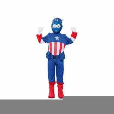 Kapitein a superhelden outfit voor jongens