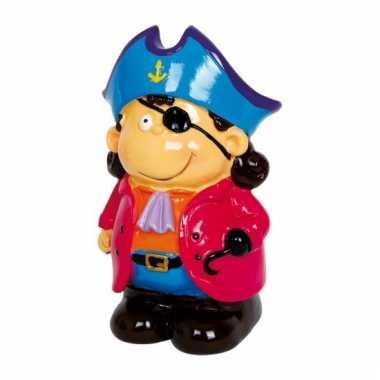 Kapitein blue piraat spaarpotten