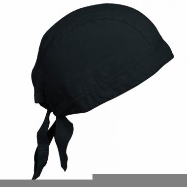 Kariban dames bandana zwart