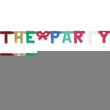 Kartonnen banner letters c