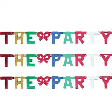 Kartonnen banner letters d