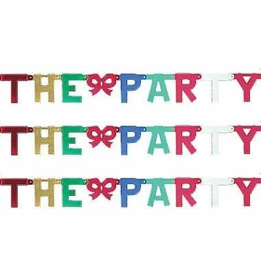 Kartonnen banner letters i