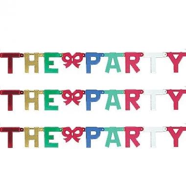 Kartonnen banner letters t