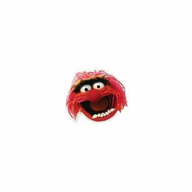 Kartonnen masker animal muppetshow