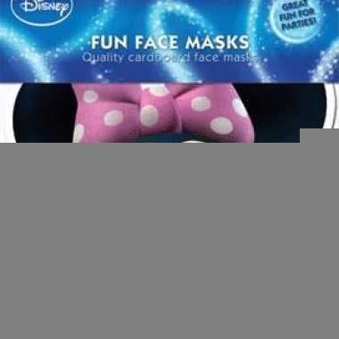 Kartonnen masker minnie mouse