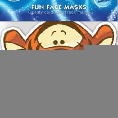 Kartonnen masker teigetje
