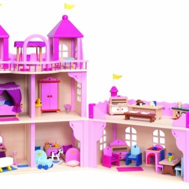 Kasteel poppenhuis voor meiden
