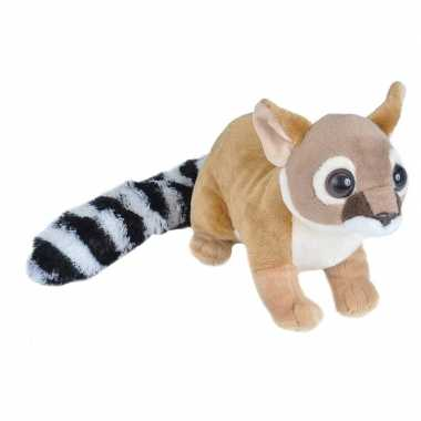 Katfretten speelgoed artikelen katfret knuffelbeest bruin 35 cm