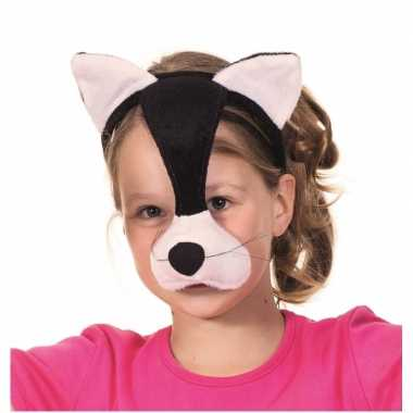 Katten party masker met geluid