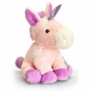 Keel toys pluche eenhoorn knuffel 14 cm