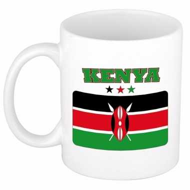 Keniaanse vlag theebeker 300 ml