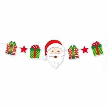 Kerst decoratie slinger 165 cm