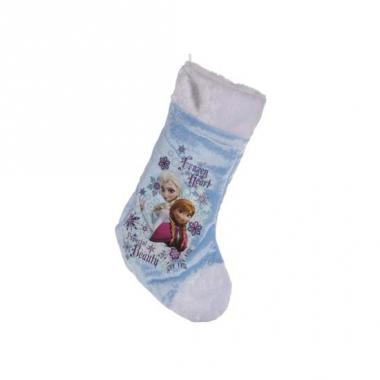 Kerst disney kerstsok frozen 38 cm