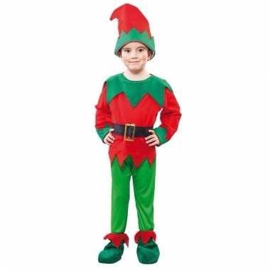 Kerst elf kostuum voor een kind