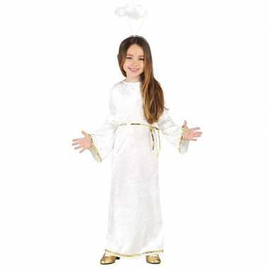 Kerst engel sariel verkleed kostuum/jurk voor meisjes