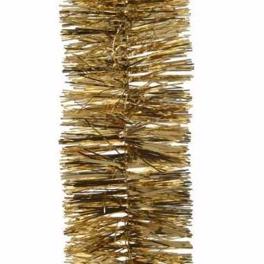 Kerst gouden folieslinger sweet christmas 270 cm