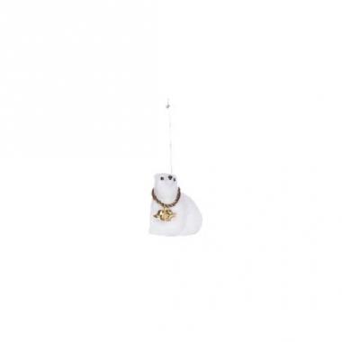 Kerst hangdecoratie ijsbeer 8 cm type 3