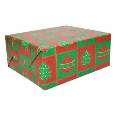 Kerst kadoverpakking print 15