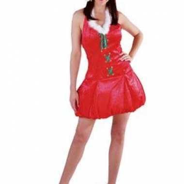 Kerst outfit met muts voor dames