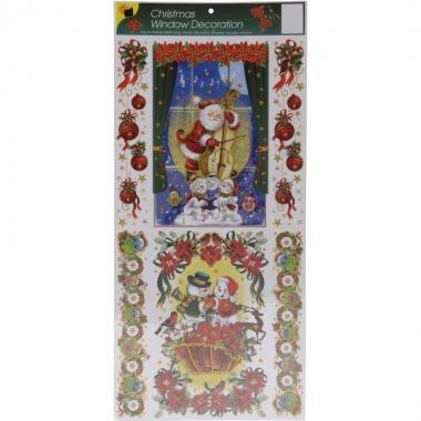 Kerst raamstickers type 1