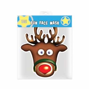 Kerst rudolph masker