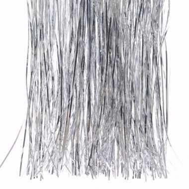 Kerst zilveren folieslierten elegant christmas 40 x 50 cm