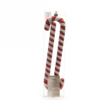 Kerst zuurstokjes 2 stuks 24 cm
