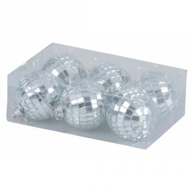 Kerstballen met spiegeltjes 5 cm