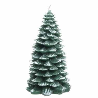 Kerstboom kaars 23 cm