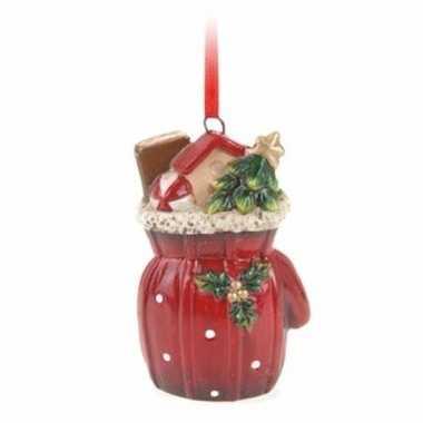 Kersthanger cadeauzak 8 cm