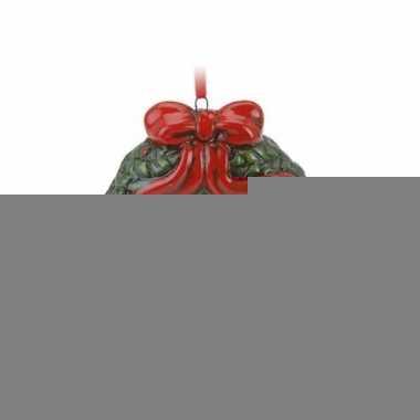Kersthanger kerstkrans 8 cm