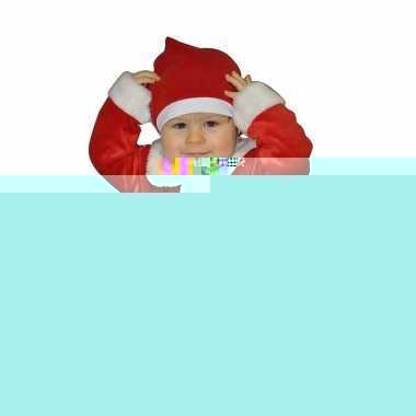 Kerstman kostuum voor babies 1 - 2 jaar