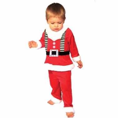Kerstmannen outfit voor peuters