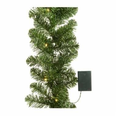Kerstslinger inclusief licht 180 cm