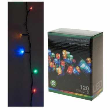 Kerstverlichting 120 lampjes gekleurd