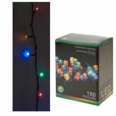Kerstverlichting 180 lampjes gekleurd