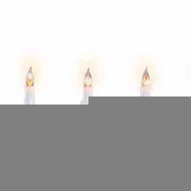 Kerstverlichting kaarsen binnen 30 lampjes