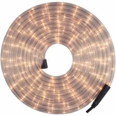 Kerstverlichting lichtsnoer/lichtslang wit 12 meter voor buiten