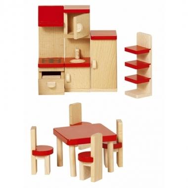 Keuken meubeltjes voor een poppenhuis