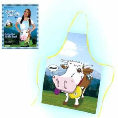 Keukenschorten met koeien afbeelding