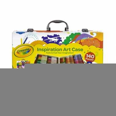 Kinder kleurtjes set in koffer 150-delig