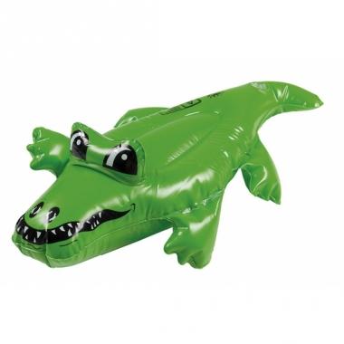 Kleine opblaas krokodil 30 cm