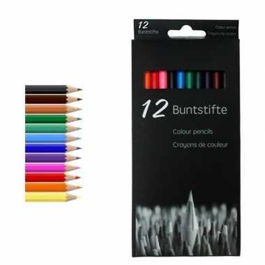 Kleurpotloden set van 12 stuks